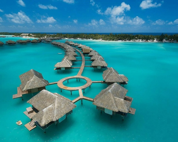 Most Amazing Pictures - Four Seasons Hotel - Bora Bora