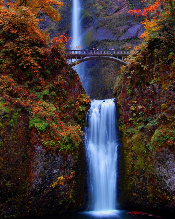 Most Amazing Pictures - Multnomah Falls, Oregon