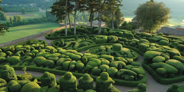 Most Amazing Pictures - The Gardens at Marqueyssac